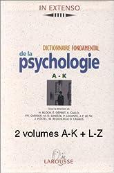 Coffret 2 volumes : dictionnaire fondamental de la psychologie