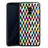 DeinDesign Slim Case Silikon Hülle Ultra Dünn Schutzhülle kompatibel mit Samsung Galaxy A8 Duos 2018 Cube Würfel Bunt