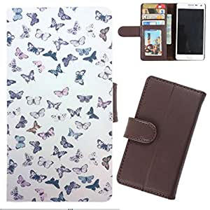 DooDa - For Samsung Galaxy S6 PU Leather Designer Fashionable Fancy Wallet Flip Case Cover Pouch With Card, ID & Cash Slots And Smooth Inner Velvet With Strong Magnetic Lock