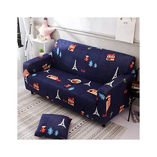 Wufangff slipcover cartone animato bambino di buon auspicio modello forza elastica divano poliestere fodera divano copridivano sofa furniture protector, 1seat
