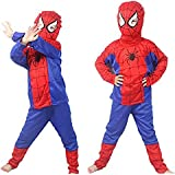 Indyragie Spiderman Costume For Kids ( 5 To 6 Years) - Multi Color