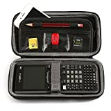 faylapa Travel, der Fall für Grafikrechner Texas Instruments TI-Nspire CX/CAS Grafikrechner Aufbewahrungsbox Case Tasche Schutztasche Box