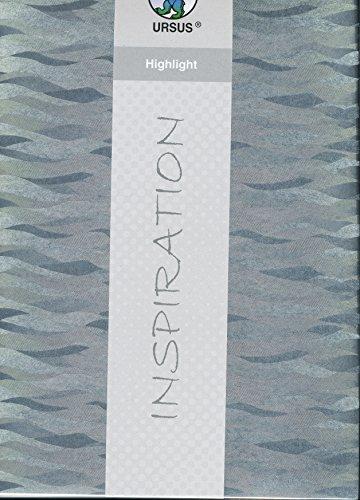Fotokarton Highlight silber Wellen Kreativkarton 1 Blatt 23x33cm 225 g/qm