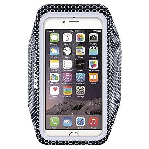 EOTW Brassard téléphone, Très fin et léger, avec L'écran tactile, Sport Brassard pour iPhone 6/6S à 11,94 cm (4,7 Pouce) , Ce brassard est très bien pour courir ou faire de la randonnée (Noir_4,7 Pouce)
