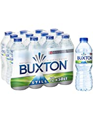 Buxton Still Natural Mineral Water 12x500ml