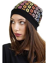 3Elfen Berretto Jersey Merletto Beanie - Cappello Hat de Donna Bambina -  Made in Berlin d7e0f4b92b82