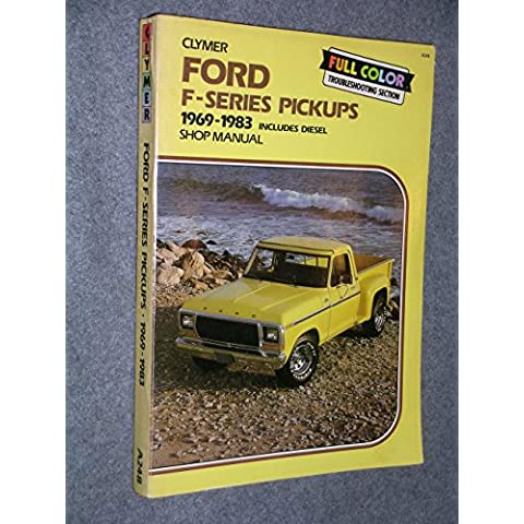 Ford F100-350 Pickups 1969-1987 Gas and Diesel Shop Manual