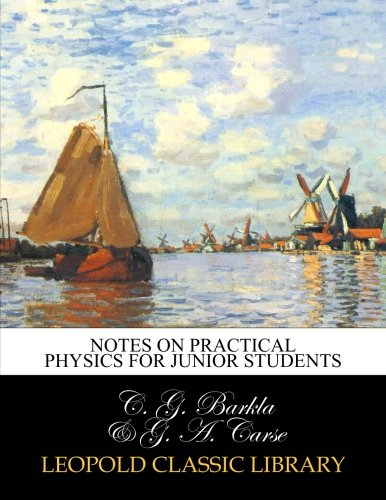 Notes on practical physics for junior students