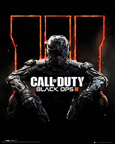 Poster Call Of Duty- Black Ops 3 Cover - 41 x 51 cm