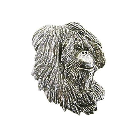 Zinn ~ Premium ~ Orang Utan Anstecknadel/Brosche ~ m094pr (Jungle Orangutan)