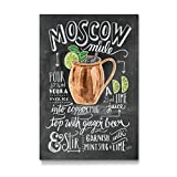 artboxONE Galerie-Print 30x20 cm Moscow Mule hochwertiges Acrylglas auf Alu-Dibond Bild - Wandbild von Lily & Val