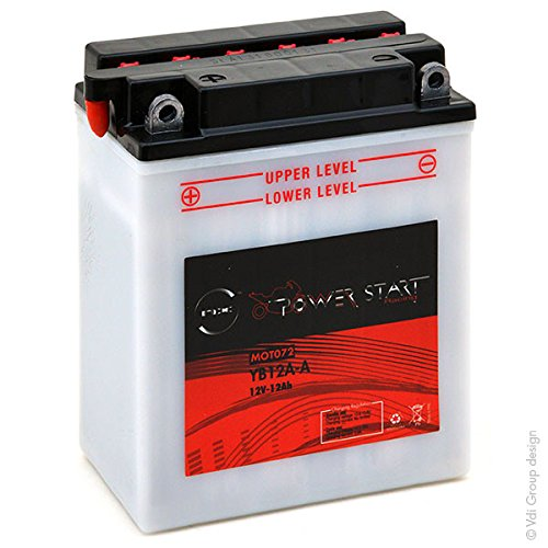 NX - Batteria moto NB12A-A/YB12A-A/12N12A-4A-1 12V 12Ah
