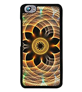 Fuson Premium 2D Back Case Cover Ethic pattern With Multi Background Degined For Micromax Canvas Fire 4 A107