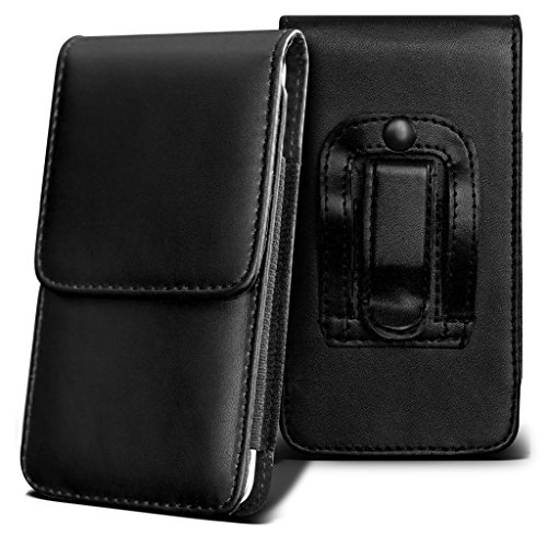 coolpad-rogue-holster-case-black-universal-vertical-pouch-flip-belt-clip-pu-leather-wallet-case-bag-