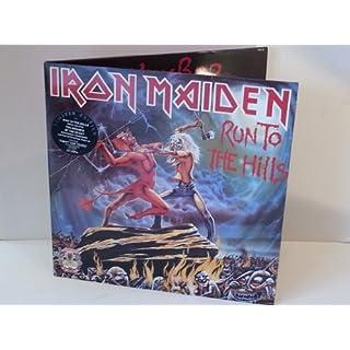 Iron Maiden RUN TO THE HILLS, IRN 4, gatefold, double album