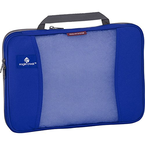 Eagle Creek Packtasche Pack-It Original Compression Cubes platzsparende Kofferorganizer für die Reise, Blau, 36 cm