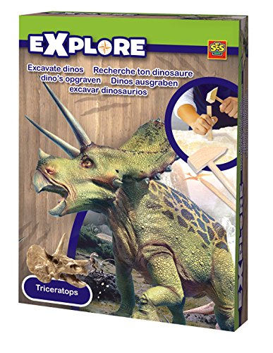 Ses Explore - Set de excavación de dinosaurios, multicolor 25022