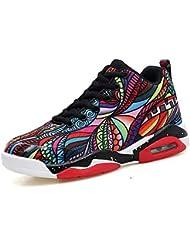 63b46ce0200a4 Unisexe Chaussures De Basket-Ball Antidérapantes Résistance Aux Chocs  Sketchers PU Printemps Automne Confort Chaussures