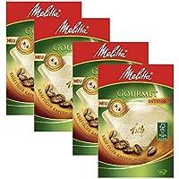 4cajas de Melitta tamaño 1x 4Gourmet intenso café filtros, unidades 80