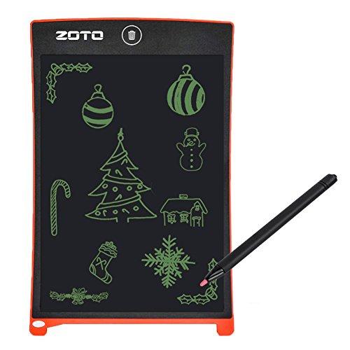 """Preisvergleich Produktbild LCD Schreibens-Tablette,  ZOTO 8.5 """"Magnetisches Zeichnungs-Brett scherzt bewegliche Zeichentabelle,  löscht Schreibensbrett für Küche / Mitteilung verlassen / Arithmetisches Protokoll-Brett Bestes eWriter"""