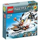 LEGO - 8631 - Jeu de construction - Agents - Mission 1: La poursuite en mini propulseur