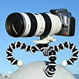 #2: Techlife Flexible Octopus Tripod Stand For Mobile Phones/DSLR & Digital Cameras/Smartphones With Universal Mobile Monopod Mount Adapter & Long Screw Accessory-Large Size