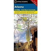 Arizona: Guide Map, Road Map & Travel