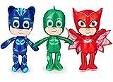 PJ Masks - Super pigiamini - Assortimento di peluche di altezza 38 cm Catboy