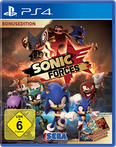 Sonic Forces Bonus Edition, Playstation 4