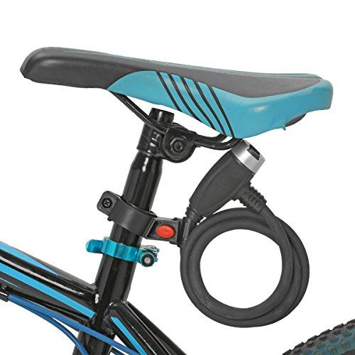 Cable Antivol, OUTERDO Chaîne de Verrouillage Velo Lock Electrique des Véhicules Anti-Vol de Vélo...