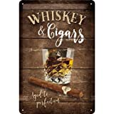Nostalgic-Art 22257 Open Bar - Whiskey | Retro Blechschild