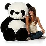 Avs 5 Feet Stuffed Spongy Panda Teddy Bear (Black/White Color) - 152 Cm