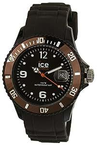 Ice-Watch Unisex - Armbanduhr Ice Chocolate Analog Quarz Silikon CT.KC.U.S.10