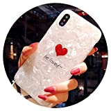 Mignon Amour Cœur étuis de téléphone pour iPhone X 66S 78Plus Girly Coque...