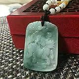Weiduoli Verheißungsvolle Kylin Jade Anhänger natürlichen A Waren Jade Anhänger Männer und Frauen Geschenke