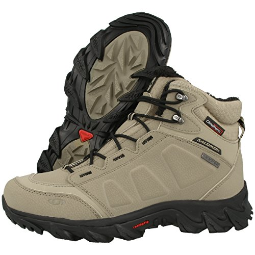 Salomon City Cross, Chaussures de Marche nordique homme Navajo Dark Navajo Black