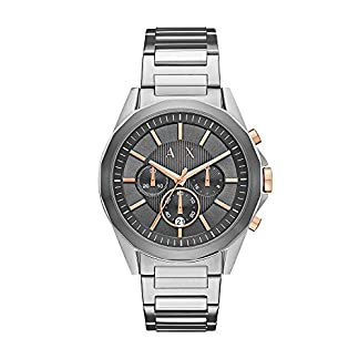 Armani Exchange Analog Grey Dial Men's Watch – AX2606