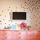 Lot de 60 Polka Dot Stickers muraux Autocollant enfant enfants Vinyle Art Décor Pois - rose bébé
