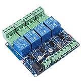 1 stück DC 12 V RS485 4 Kanal Relaismodul Relaisplatine Microcontroller Kommunikation mit Optokoppler Schutz STM8S103F3