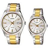 Casio His and Her pair watch MTP/LTP-1302SG-7AV