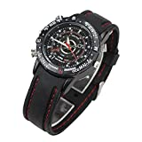 Flylinktech®-8GB HD Water Resistant Spy Watch Orologio Spia Videocamera Nascosta DV Video Recorder Macchina Fotografica Digitale Spy Hidden Camera Watch