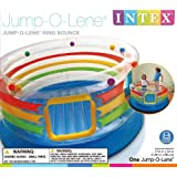 Intex Jump O Lene Plastic Ring Bounce for Kids (71.5 X 34-inches/1.82 m X 86 cm, 3-6 Years)