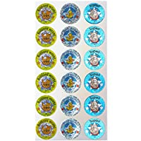 Sticker Solutions Sparkling Cat/Duck/Dog Reward Stickers (Pack of 54)