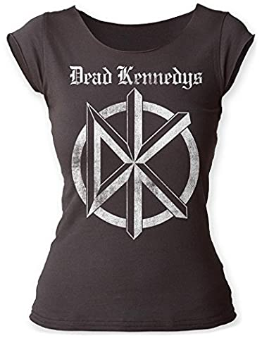 Dead Kennedys Punk Rock Band Distressed Old English Logo Juniors