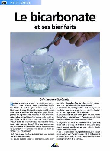 Le bicarbonate de soude et ses bienfaits by Martina Krcmar;Jala(2008-02-08)