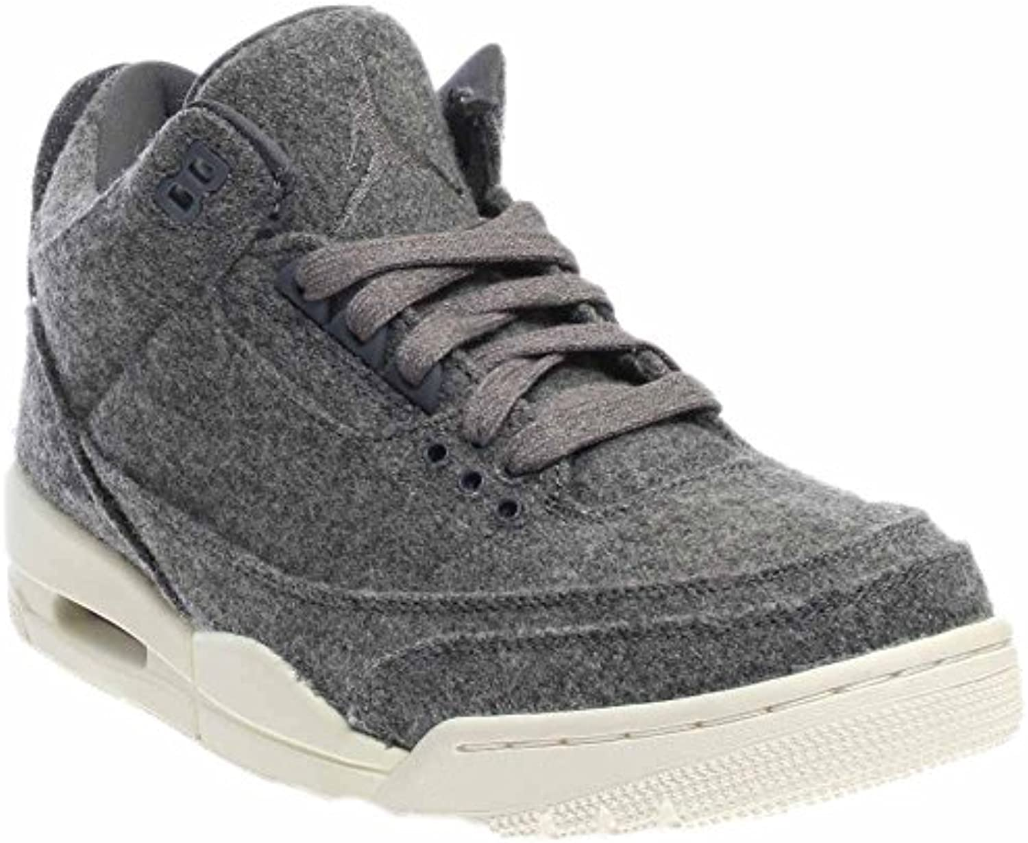 Jordan Nike Men's Air 3 Retro Wool Basketball Shoe