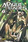 Ataque a los Titanes 7 par Isayama