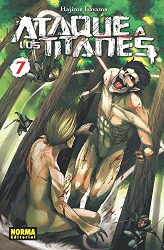 Ataque a los Titanes 7 (CÓMIC MANGA) por Hajime Isayama