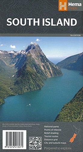 New Zealand South Island 1: 1 000 000