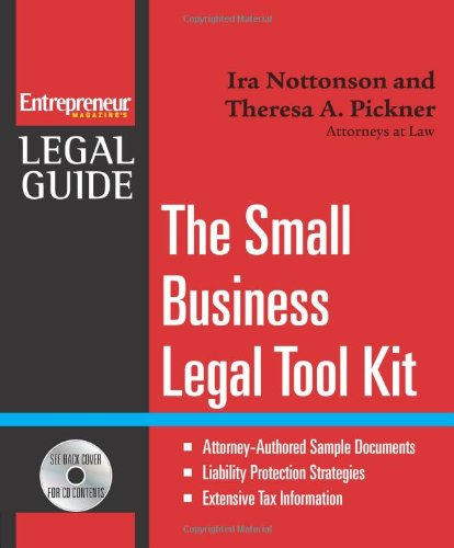 Small Business Legal Tool Kit (Entrepreneur Legal Guides)
